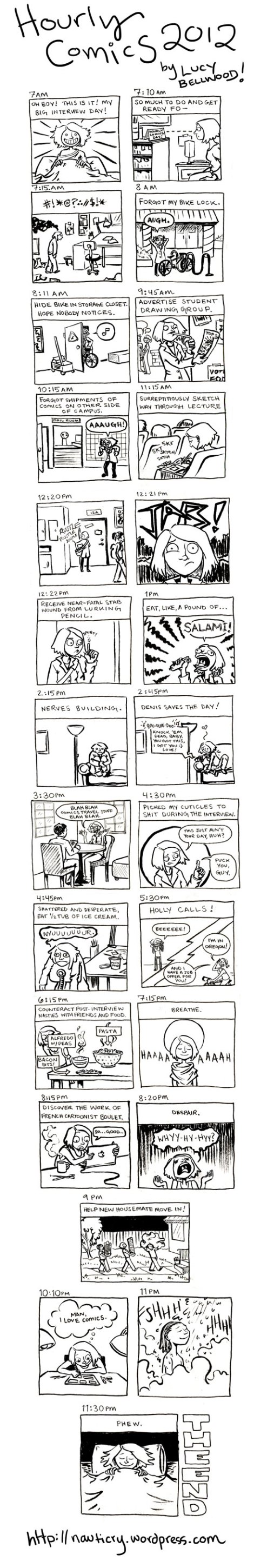Hourly Comics 2012