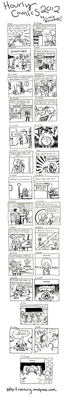 Hourly Comics 2012