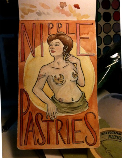 Nipple Pastries