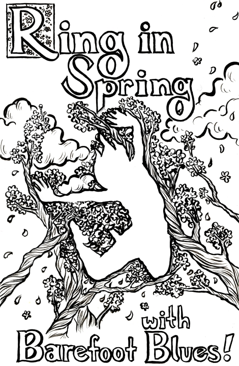 Spring Lineart