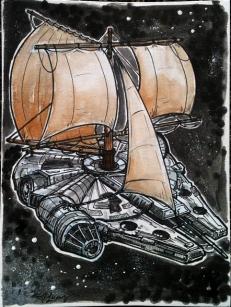 HMS Millennium Falcon