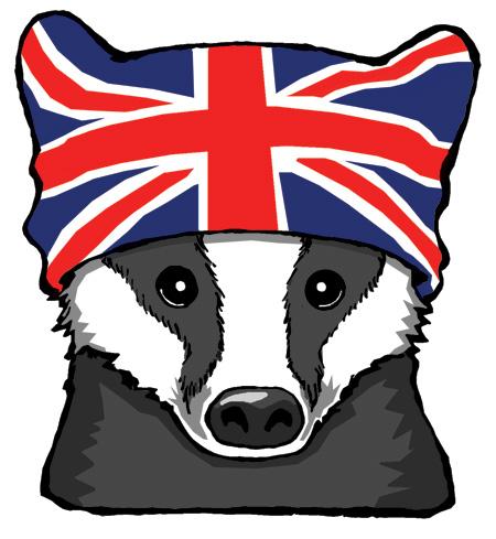 Badger Bookmarks