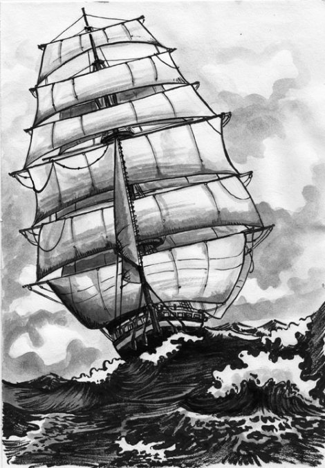 Peking Under Sail